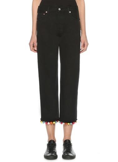 Forte Couture Jean Pantolon Siyah